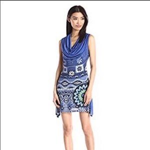 NWT Desigual tunic/dress ts_magic blue sz.L